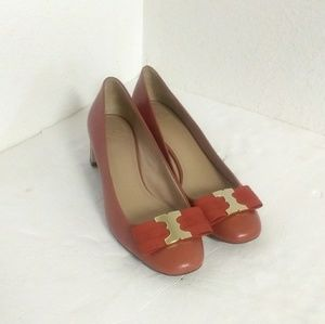 Tory Burch Leather Pump Shoes